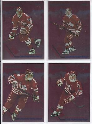 1993-94 Donruss Team Canada Hockey 15 Card Lot