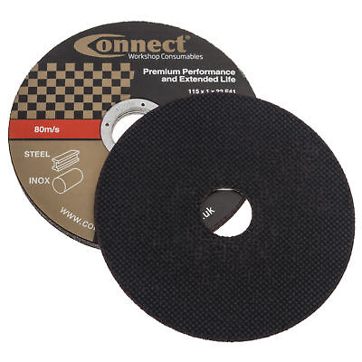 Connect Thin Cutting Discs 115 X 1Mm Pack Of 5 Mtr302104