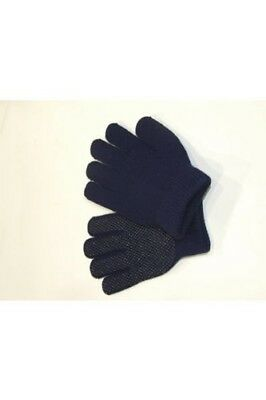Childrens Horse Riding Gloves MAGIC STRETCH in Navy. MAGIC GLOVES. Brand New