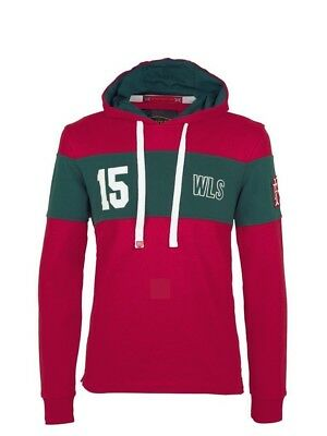 (Medium, Z76 Red) - Front Up Rugby Men's Twenty15 Hoody Mid Layers
