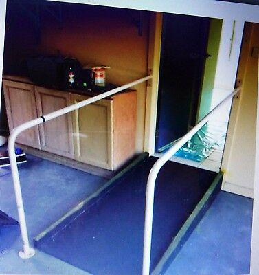 Ramp Wheelchair Accessible Disability plus matching Safety hand rail grab bars