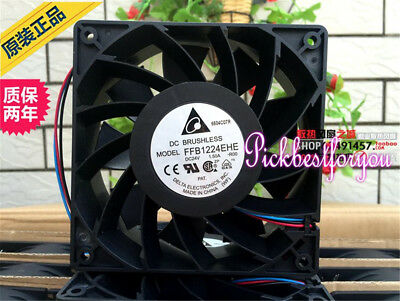 Delta FFB1224EHE-ROO fan 24V 1.50A 120*120*38mm 3pin #M2162 QL