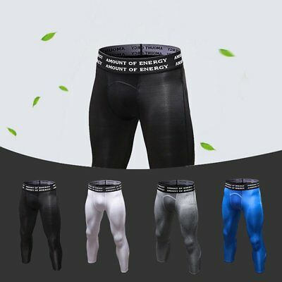 Yuerlian PRO 6050 Men Fitness Pants Tight Cropped Trousers Running Pants GT