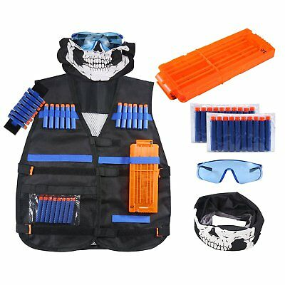 NEW Kids Tactical Vest Kit for Nerf N-strike Elite Series Toy Hot
