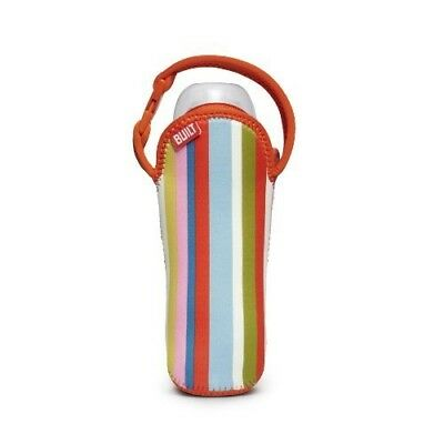 Built Bottle Buddy One Bottle Tote, In Baby Pink Stripe by Built NY