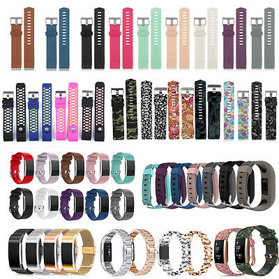 Various Luxe Watch Band Replacement Wrist Strap Bracelet For Fitbit Charge 2 UK