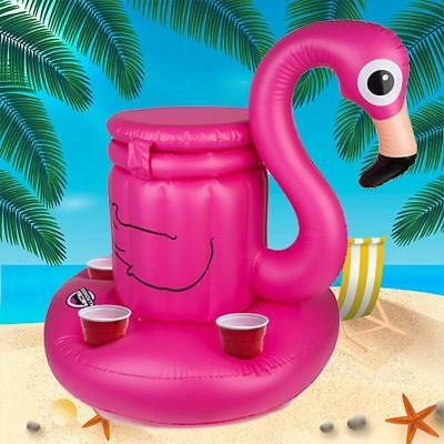 Inflatable Flamingo Drinks Cooler