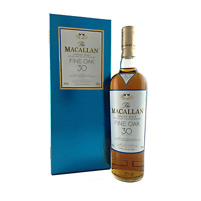 The Macallan 30 Year Old Fine Oak Single Malt Scotch Whisky 700ml 43%