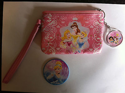 Disney Princess purse and compact mirror. Dress up Role play