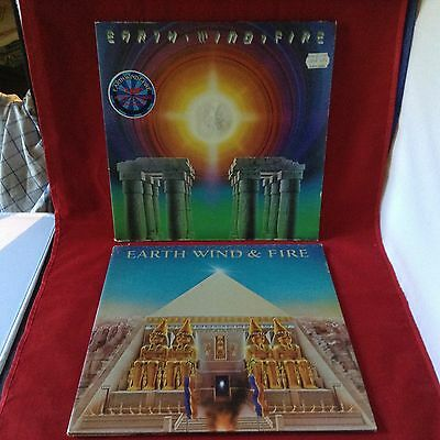 "V039- Earth, Wind & Fire - SET 2x LP 12""/ Jazz / Funk / Soul / guter Zustand"