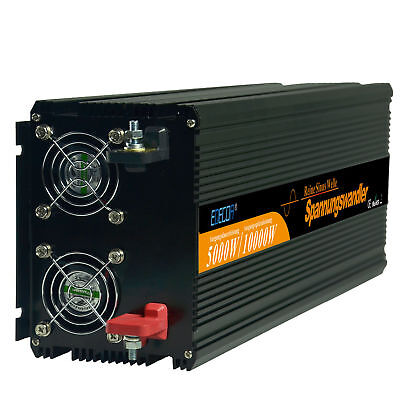 Power Inverter 5000W 10000W Convertitore 24V to 230V onda sinusoidale pura