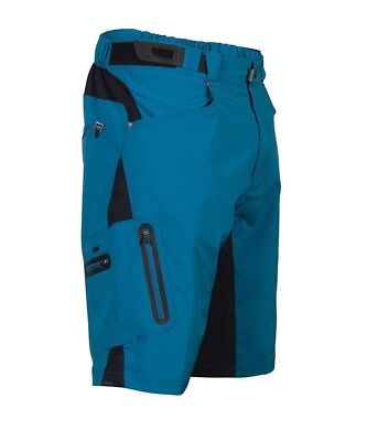 (Small, Blue) - Zoic Junior Ether Bike Shorts. Free Delivery