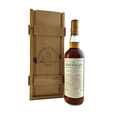 The Macallan 25 Year Old Anniversary Malt Scotch Whisky 700ml 43%