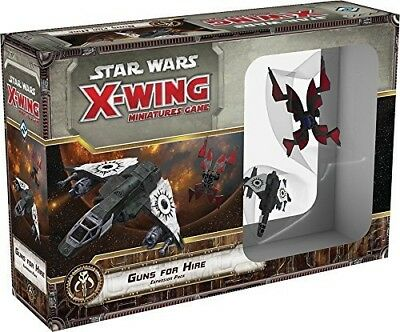 Star Wars X-Wing Guns for Hire Expansion Pack Minature Game. FFG