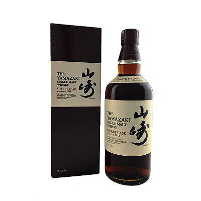 Suntory Yamazaki Sherry Cask 2012 Release Japanese Single Malt Whisky 700ml 48%