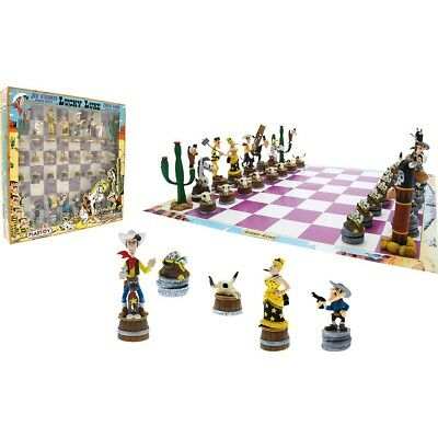 Plastoy Lucky Luke Chess Game Schachspiel NEU NEW