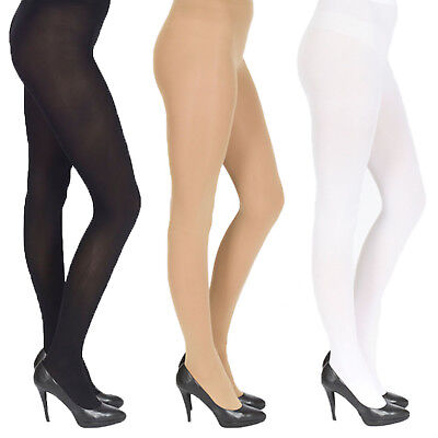 5 x Pair Pack Opaque Tights, Extra Thick 40, 60, 100 Denier, Womens Ladies Girls