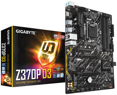 GIGABYTE Z370P D3 ATX Motherboard for Intel LGA1151 CPUs