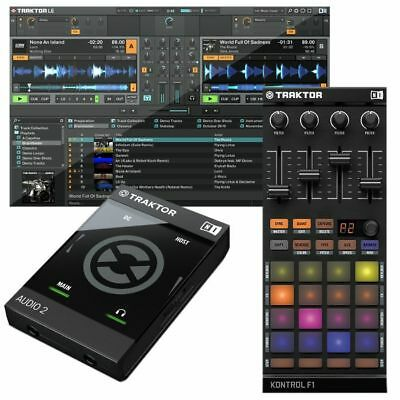 Native Instruments Traktor Audio 2 MK2 Audio Interface With Traktor LE 2 DJ S...