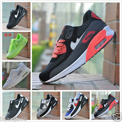 Fashion Running Trainers Absorbing Air Skateboarding Men Sport Shoes UK6-9.5