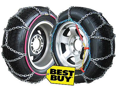Snow Chains 4WD-4x4-SUV-Van and Camper Van for All Tyre Sizes, sold in pairs NEW