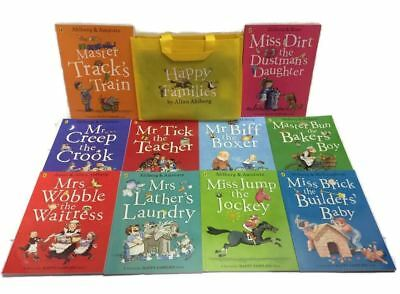 Happy Families 10 Book Set Collection