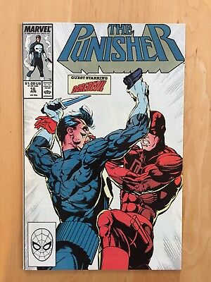 THE PUNISHER #10 (MARVEL 1988) NM- to NM COPY DAREDEVIL APPEARANCE!