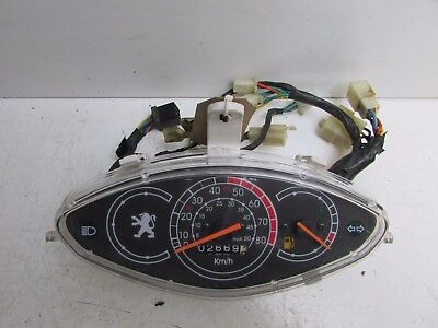 Peugeot V-Clic V Clic 50 2007 Onwards Clocks Speedo Instrument 2669 Miles