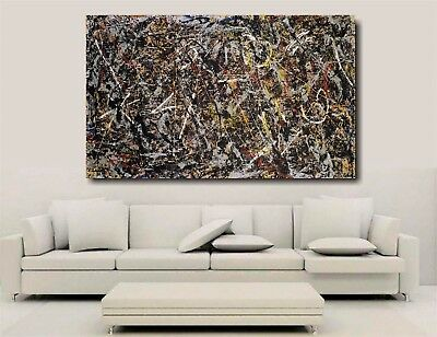 Alchemy - Jackson Pollock - Canvas Wall Art