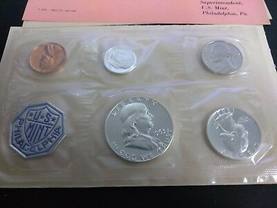 1963 US Silver Proof Coin Set in Original U.S. Mint Envelope Sealed