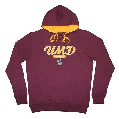 (X-Large, Burgundy) - NCAA Youth MINNESOTA-DULUTH BULLDOGS Athletic Pullover