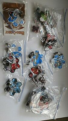 Lot of 18 plus Heroscape Game Action Figures Dragons Cards Vikings Warriors