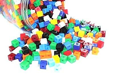 CentiFit Cubes (100  pieces) 1cm Interlocking Cubes Educational Resource