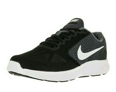 Nike Revolution 3 (4E) WIDE Sneakers 819301-001 Mens Black Athletic Shoes  NIB