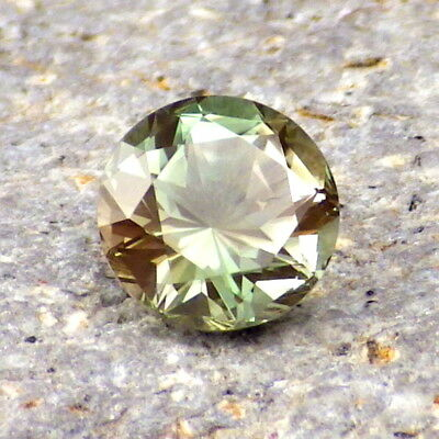 SEAFOAM GREEN DICHROIC OREGON SUNSTONE 1.26Ct FLAWLESS-GERMAN CUT-FOR JEWELRY