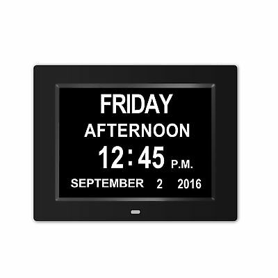 Memory Loss Digital Calendar Day Clock with Extra Large Non-Abbreviated Day &...