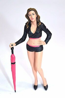 Paddock Grid Girl Umbrella Down Motogp Figure American Diorama 77436 1:18 New