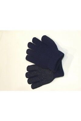Childrens Riding Gloves Magic with Pimple Palm in Black. Elico. Shipping is Free