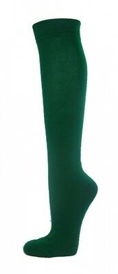 (Small, Dark Green) - COUVER Premium Quality Knee High Sports Athletic