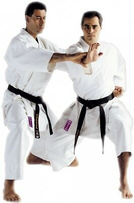(7 / 200 cm) - Kamikaze Monarch Karate Gi Uniform White 100% Cotton. Best Price
