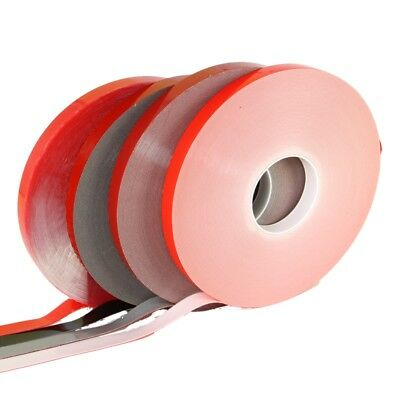 Clear 25mm wide 1mm thick 33m Roll VHB Tape