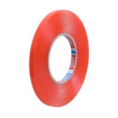 12mm Wide - Tesa 4965 Double Sided Transparent Poly Tape