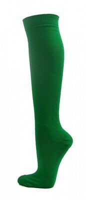 (Large, Green) - COUVER Premium Quality Knee High Sports Athletic Baseball