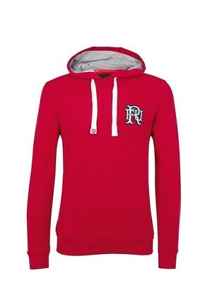 (Large, Z76 Red) - Front Up Rugby Men's Ruck and Maul Hoody Mid Layers