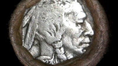 Buffalo Nickel Full Circulated Roll 40-Coins *sealed/unsearched From Large Hoard