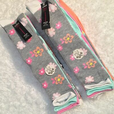 NOBO Womens Socks Shoe Sz 4 To 10 Knee High 8 Pair Mix Not Match Two Package Lot