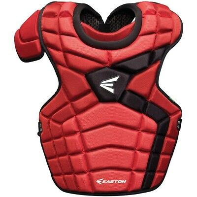 (Red/Black) - Easton Mako II Adult Catcher's Chest Protector. Shipping is Free