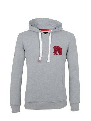 (Large, Z75 Heather) - Front Up Rugby Men's Ruck and Maul Hoody Mid Layers