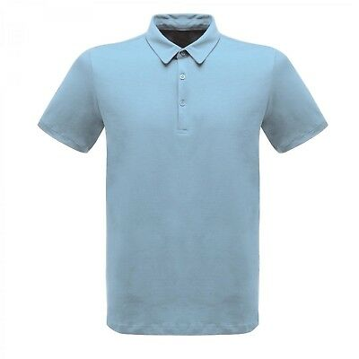 (Blue Skies, 3X-Large) - Regatta Mens Classic Cotton Polo Shirt TRS145 Blue