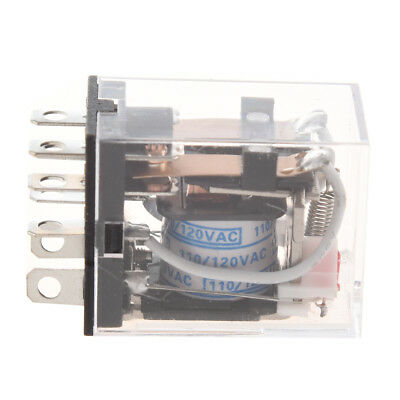 JQX-13FL AC 110V Coil DPDT 8-Pin 8P Electromagnetic Power Relay P5P3